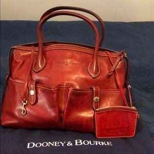 Dooney & Bourke 1975 red bag